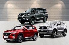 Xếp hạng phân khúc SUV 7 chỗ tháng 1/2019: 'Tân binh' nổi loạn, Toyota Fortuner ở đâu?