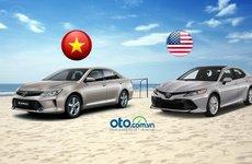 Người Việt nhận được những gì với một chiếc Camry có giá cao gấp đôi tại Mỹ?