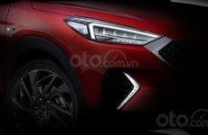 SUV hiệu suất Hyundai Tucson N Line 2020 'lấp ló' trong ảnh nhá hàng mới