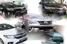 Điểm danh 5 mẫu xe hot biến mất khỏi top bán chạy tháng 1/2019