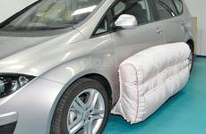 Túi khí ô tô gắn ngoài tăng độ an toàn