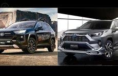 Vén màn Toyota RAV4 Modellista và TRD