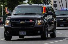 Chi tiết về 'khủng long' Chevrolet Suburban trong đoàn xe hộ vệ ông Trump
