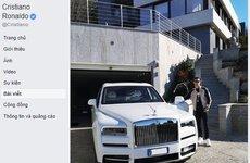 Cristiano Ronaldo bổ sung Rolls-Royce Cullinan vào bộ sưu tập xe hơi khủng