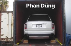 SUV siêu sang Rolls-Royce Cullinan 2019 đầu tiên xuất hiện ở Việt Nam