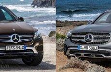 So sánh xe Mercedes-Benz GLC-Class 2020 và 2015: Khác biệt khó nhận ra