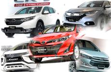 5 'cú sốc' trên thị trường ô tô Việt Nam tháng 2/2019