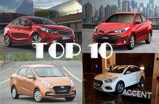 Top 10 xe bán chạy tháng 2/2019: Honda CR-V vẫn vững vàng ở vị trí No.1