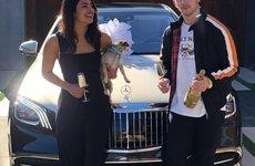"Leo top 1 Billboard, ca sĩ Nick Jonas ""tậu"" Mercedes-Maybach S-Class 2019 tặng bà xã"