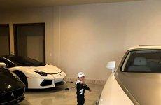 Lộ garage siêu xe và xe siêu sang đắt đỏ của gia đình Đan Trường tại Mỹ