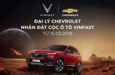 Đại lý Chevrolet nhận đặt cọc xe ô tô VinFast tại Việt Nam