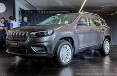 Jeep Cherokee 2019 tái xuất tại Philippines