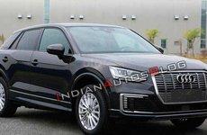 Audi Q2L E-Tron lộ diện gần một tháng trước triển lãm ô tô Thượng Hải
