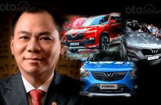 Xuất xưởng chiếc xe VinFast đầu tiên, tài sản tỷ phú Phạm Nhật Vượng đạt mốc kỷ lục mới