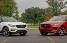 So sánh xe Volvo XC40 2019 và Jaguar E-Pace 2019