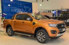 Đón đầu thuế mới, dù khan hàng Ford Ranger tại đại lý vẫn tung ra nhiều khuyến mãi gói trang bị