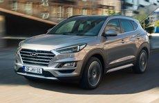 Hyundai Tucson có thể di chuyển liên tục 1000 km với động cơ diesel hybrid