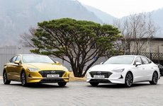 Hyundai Sonata 2020 lộ diện hoàn toàn qua video