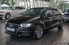 Audi A3 Sedan 2019 facelift lên kệ với giá 1,4 tỷ đồng tại Malaysia