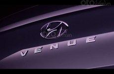 Hyundai Venue tung teaser nhá hàng