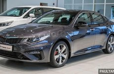 Kia Optima EX 2019 cập bến Malaysia, giá gần 800 triệu đồng