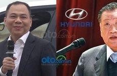 VinFast là 'kẻ tí hon' khi so với Hyundai nhưng tài sản ông Phạm Nhật Vượng đã vượt xa ông chủ Hyundai