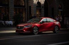 Mazda 6 không còn phiên bản số sàn