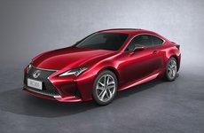 Có giá bán 3,27 tỷ đồng, Lexus RC Coupe 2019 có gì khác biệt so với phiên bản cũ?