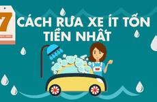 7 cách rửa xe ít tốn tiền nhất