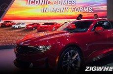 [MIAS 2019] Chevrolet Camaro động cơ tăng áp có giá gần 1,5 tỷ đồng