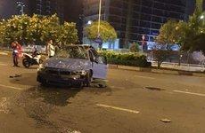 BMW M3 cũ của đại gia Cường Đô La gặp nạn thảm khốc ở TP.Hồ Chí Minh
