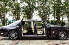 Rolls-Royce Phantom ra mắt thêm phiên bản khoang sau biệt lập