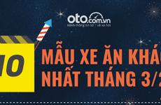 10 xe bán chạy nhất tháng 3/2019 tại Việt Nam: Toyota Vios quay lại ngôi vua