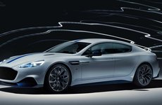 [Thượng Hải 2019] Aston Martin Rapide E - siêu xe điện gây ấn tượng với 600 mã lực