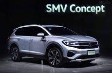 [Thượng Hải 2019] Volkswagen SMV Concept trở thành mẫu SUV lớn nhất của hãng