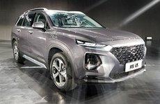 Hyundai Santa Fe 2019 mở bán tại Trung Quốc với giá khởi điểm từ 702 triệu đồng