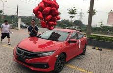 Hình ảnh thực tế Honda Civic 2019 tại Việt Nam. Đầy đủ các phiên bản để giao xe trong tháng 4