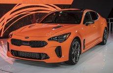 [New York 2019] Kia Stinger GTS 2020 có dẫn động 4 bánh mới và chế độ drift