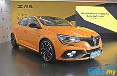 Renault Megane R.S. hoàn toàn mới mở bán tại Malaysia