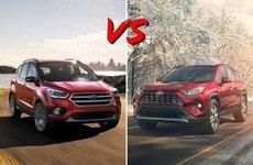 Bản Mỹ: Chọn Ford Escape 2019 hay Toyota RAV4 2019?
