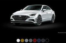 Hyundai Sonata 2020 thêm 8 màu ngoại thất mới