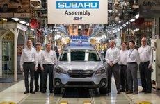 Subaru đạt mốc sản xuất 4 triệu xe tại Mỹ