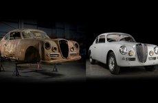 Xế cổ Lancia Aurelia B20 GT đẹp long lanh sau quá trình tái tạo tại Anh