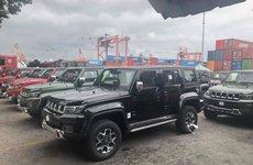 Mẫu SUV BAIC BJ40L nhập khẩu từ Trung Quốc về Việt Nam với giá gần 1 tỷ đồng