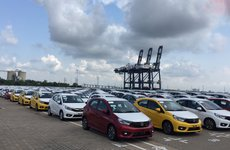 Honda Brio 2019 tràn ngập cảng Việt Nam, chờ ngày ra mắt
