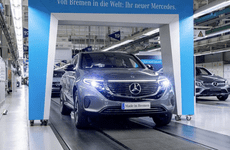 Xe điện Mercedes-Benz EQC 400 4Matic chốt giá thấp hơn Audi E-Tron