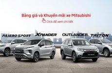 Mitsubishi khuyến mại tháng 5/2019: Outlander đầu bảng giảm giá