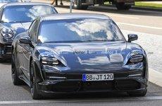 Xe thuần điện Porsche Taycan 2020 hé lộ hình ảnh nội thất