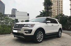 Ford Explorer tại Việt Nam dính án triệu hồi