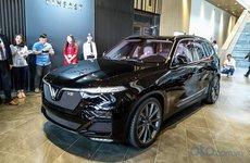 Cận cảnh hàng khủng VinFast LUX V8 - mẫu SUV mạnh mẽ nhất phân khúc